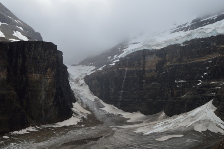 Lefroy Glacier Lake Louise Hikes
